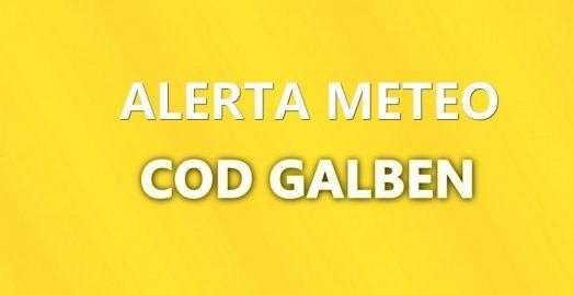 Avertizare meteo – cod galben