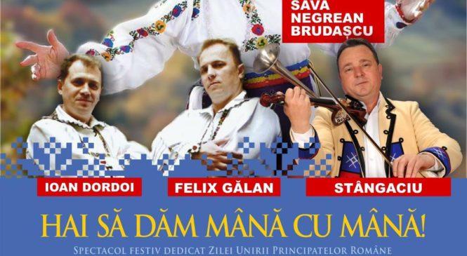 HAI SĂ DĂM MÂNĂ CU MÂNĂ !