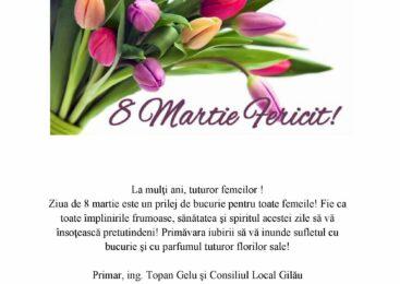 La mulți ani tuturor femeilor!