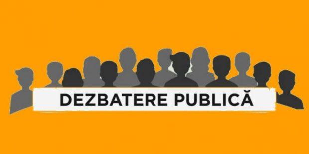DEZBATERE PUBLICĂ – PLAN URBANISTIC GENERAL SI REGULAMENT LOCAL DE URBANISM